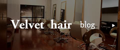 ベルベットヘアー ブログ